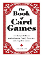 The Book of Card Games: The Complete Rules to the Classics, Family Favorites, and Forgotten Games