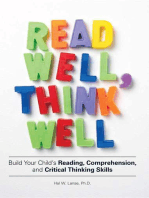 Read Well, Think Well