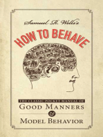 Samuel R. Wells's How to Behave
