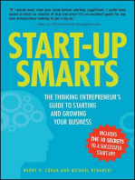 Start-Up Smarts: The Thinking Entrepreneur's Guide to Starting and Growing Your Business