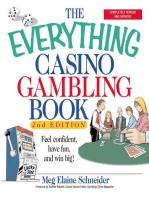 The Everything Casino Gambling Book