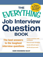 The Everything Job Interview Question Book