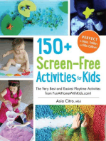 150+ Screen-Free Activities for Kids