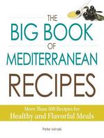 The Big Book of Mediterranean Recipes