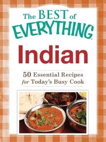 Indian: 50 Essential Recipes for Today's Busy Cook