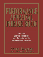 Performance Appraisal Phrase Book