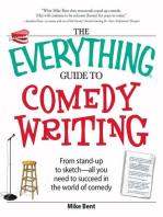The Everything Guide to Comedy Writing