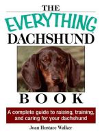 The Everything Daschund Book