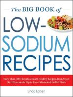 The Big Book Of Low-Sodium Recipes