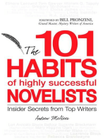 101 Habits of Highly Successful Novelists