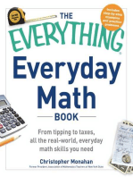 The Everything Everyday Math Book