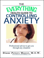 The Everything Health Guide To Controlling Anxiety Book
