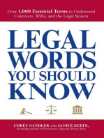 Legal Words You Should Know