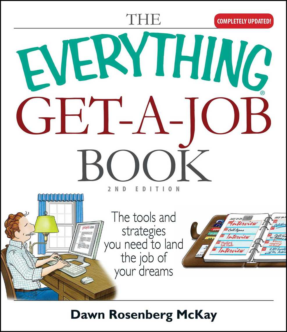 The Everything Get A Job Book By Dawn Rosenberg Mckay