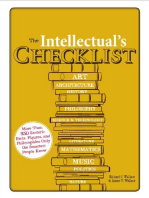 The Intellectual's Checklist