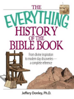 The Everything History Of The Bible Book