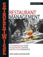 Streetwise Restaurant Management