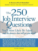 The 250 Job Interview Questions
