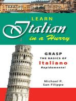 Learn Italian in a Hurry