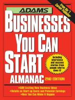 Adams Businesses You Can Start Almanac