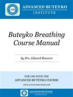 Buteyko Breathing Course Manual