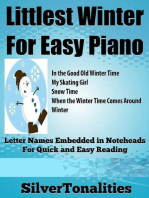 Littlest Winter for Easy Piano