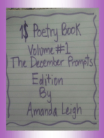 1$ Poetry Book