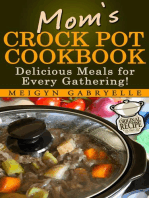 Mom's Crock Pot Cookbook