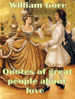 Quotes of Great People About Love