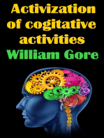 Activization of Cogitative Activities