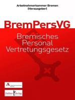 Gemeinschaftskommentar zum Bremischen Personalvertretungsgesetz (BremPersVG)