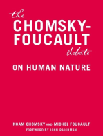 The Chomsky - Foucault Debate