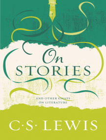 On Stories: And Other Essays on Literature