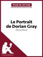 Le Portrait de Dorian Gray de Oscar Wilde (Fiche de lecture)