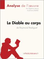 Le Diable au corps de Raymond Radiguet (Analyse de l'oeuvre)