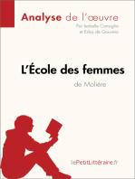 L'École des femmes de Molière (Analyse de l'oeuvre)