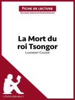 La Mort du roi Tsongor de Laurent Gaudé (Fiche de lecture)