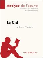 Le Cid de Pierre Corneille (Analyse de l'oeuvre)