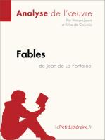 Fables de Jean de La Fontaine (Analyse de l'oeuvre): Comprendre la littérature avec lePetitLittéraire.fr
