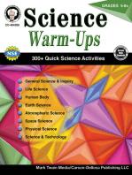 Science Warm-Ups, Grades 5 - 8