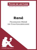 René de François-René de Chateaubriand (Fiche de lecture)