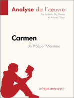 Carmen de Prosper Mérimée (Analyse de l'œuvre)