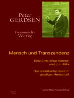 Mensch und Transzendenz