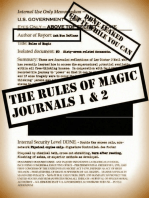The Rules of Magic Journals 1-2