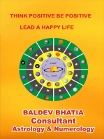 Think Positive Be Positive- Lead A Happy Life