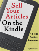 Sell Your Articles on the Kindle