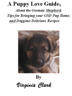 A Puppy Love Guide About the German Shepherd, Tips for Bringing your GSD Pup Home, and Doggone Delicious Recipes