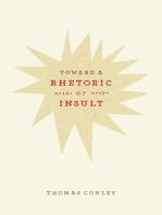 Toward a Rhetoric of Insult