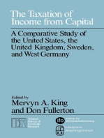 The Taxation of Income from Capital: A Comparative Study of the United States, the United Kingdom, Sweden and West Germany