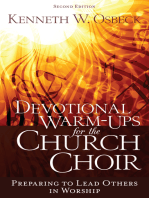 Devotional Warm-Ups for the Church Choir 2nd Ed